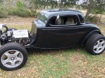 1934 Ford Chopped Ford Coupe Hot Rod for Sale