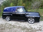 1955 Ford F-100 Panel Truck Hot Rod for Sale